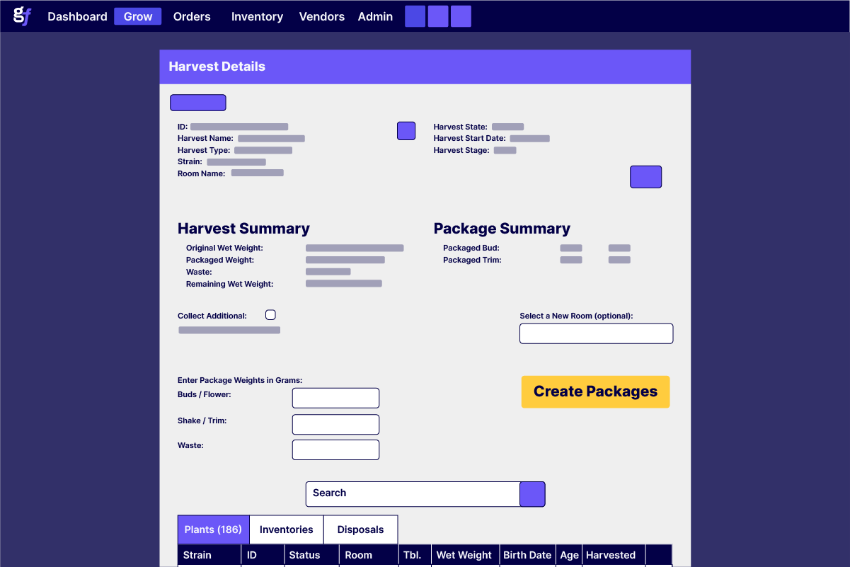 Wholesales-Harvesting-Screen